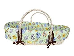 Trend Lab Chibi Zoo Moses Basket Set