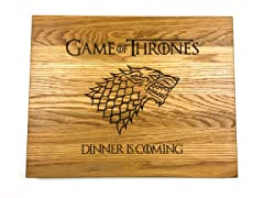 Game of Thrones Handmade Cutting Board