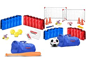 Champ Celebrations All-In-One Soccer& Baseball Sets