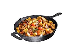Pre-Seasoned 12-Inch Cast Iron Skillet