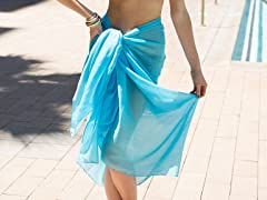 Cotton Sarong Turquoise