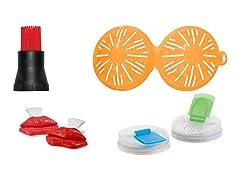 Jokari 6-Pc Picnic, Grill & Beverage Set