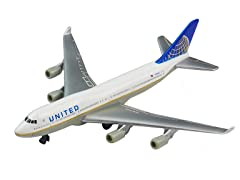 United Airlines 747 Die Cast Jet