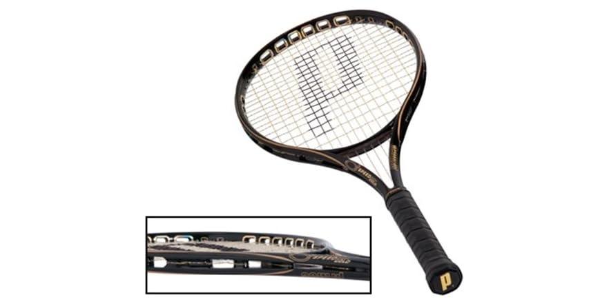 prince o3 speedport gold tennis racquet