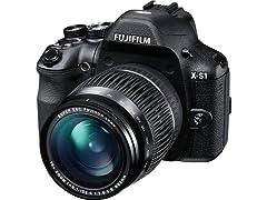 Fujifilm X-S1 12MP EXR Digital Camera 26x Optical