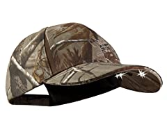 PV CUB4-281237 LED lghtd Str Hat Camo- RealTree OSFM