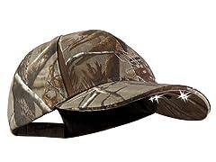 PV CUB4-281237 LED lghtd Str Hat Camo- RealTree OSFM
