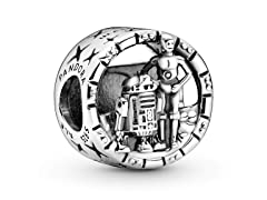 Pandora Star Wars, C-3PO And R2-D2 Charm