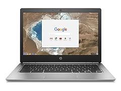 "HP 13-G1 13.3"" QHD+ Aluminum Chromebook"