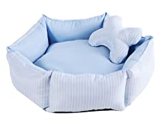 Piper Pet Bed - Blue