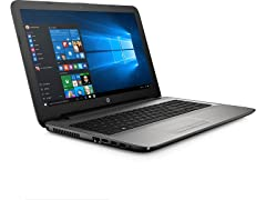 "HP 15.6"" AMD A6 Quad-Core Laptop"