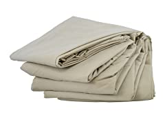 Microfiber Sheet Set: Beige (Multiple Sizes)