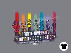 Infinite Diversity in Infinite Combinations