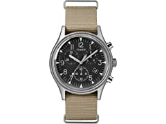 Timex MK1 Men's Chrono Nylon Watch