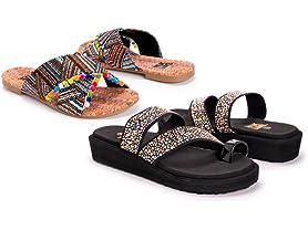MUK LUK Women's Spring Sandals