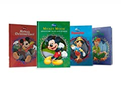 Disney Die Cut StoryBooks 4-Pack Set