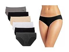 Nextex Womens Seamless Bikini Panties 6P