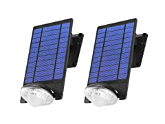 Solar LED Motion Flood Light (2-Pack)