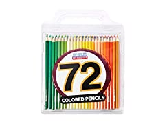 Colored Pencil Set with Case, Pack of 72