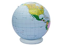 "36"" Blue Political Inflatable Globe"