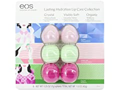 EOS Evolution of Smooth Lip Balm, 6 Pack