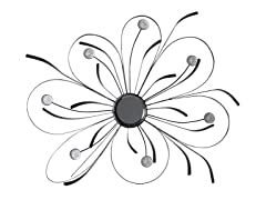 Ribbonz Daisy Metal Wall Decor