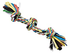 """Tuggin' Tees Rope Toy, 3 Knot - 15"""""""