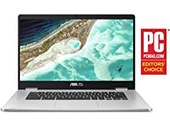 "Asus 15.6"" HD Chromebook 4GB 32GB"