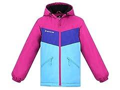 Children's Ski Jacket Bubblegum