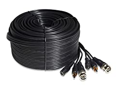 99ft AWG22 Video + Power + Audio Cable