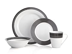 16 pc Night Out Dinnerware Set