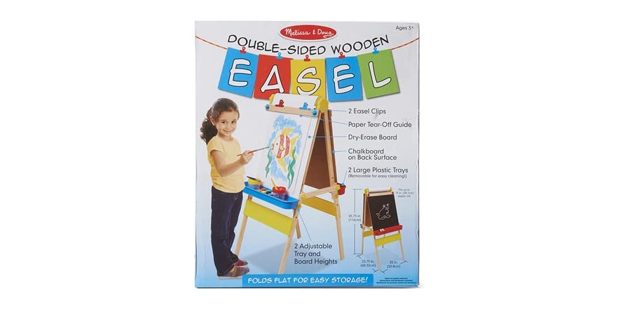 melissa and doug easel paper This easy-loading, premium quality paper roll from melissa & doug will provide you with thick, sturdy paper for an economical price whether your kids use it with a.