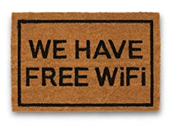 WE HAVE FREE WiFi Mat