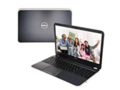 "Dell 17.3"" Quad-Core Laptop - Moon Silver"