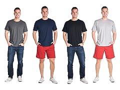 Men's Premium Crew Neck Shirt