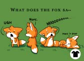 Foxes Say NO