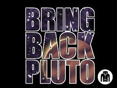 Bring Back Pluto Zip Hoodie