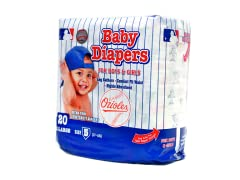 Baltimore Orioles Disposable Diapers
