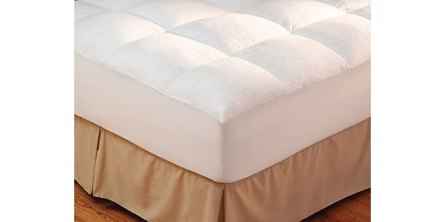 Royal Water Repellant Mattress Pad King Home & Kitchen