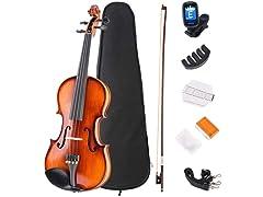 JMFinger 4/4 Full Size Violin Beginner Kit