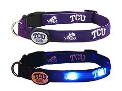 Texas Christian University LED Collar- M