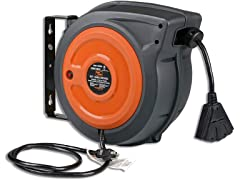 SuperHandy 65' 12AWG Extension Cord Reel