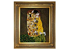 Klimt - The Kiss (Full View): 20X24