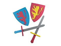 Foam Sword and Shield for Kids