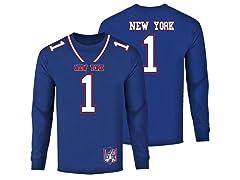 Football Team Jersey LS Shirts