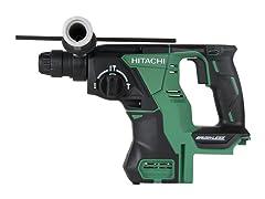 "Hitachi 18V Li-Ion Brushless SDS Plus 1"" Rotary Hammer"
