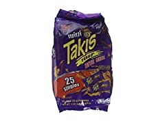 Mini Takis Fuego, 25 Piece Bag