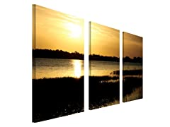 End of the Day by Patty Tuggle set of 3
