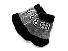 Home Comfort Traction Control Socks Black/Gray