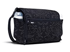 Night Damask Station Convertible Diaper Bag
